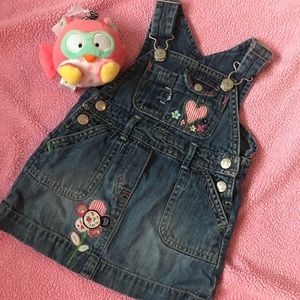 - 🎀Gap denim dress.